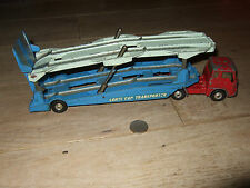 CORGI MAJOR TOYS BEDFORD motrice & carrimore CAR TRANSPORTER no1105 pressofusione
