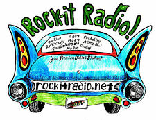 Rock-it Radio shows #5701 to #5750 on flashdrive mp3 = 75 hours of oldies Rock.