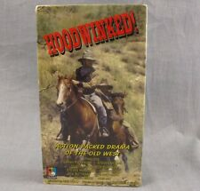 Hoodwinked VHS Video Sarah Pippenger Old West Western Stagecoach Robber NEW