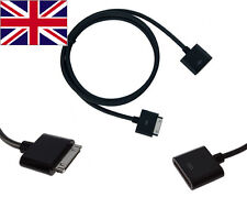 30pin male to female Dock Extender Extension Cable for iPhone4S 4 3GS iPod Touch