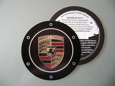 Magnetic Tax disc holder fit porsche coupe 911 boxster targa cayenne carrera gt