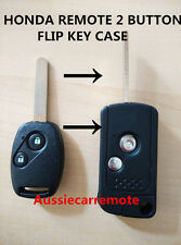 HONDA ACCORD JAZZ CRV Odyssey CIVIC REMOTE 2 BUTTONS FLIP KEY CASE SHELL