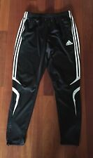Rare Adidas Black White Stripe Tiro Clima 365 Sz Large Soccer Pants Training