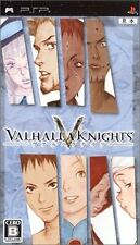 Used PSP Valhalla Knights SONY PLAYSTATION JAPAN IMPORT
