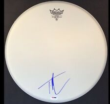 """TIM MCGRAW SIGNED 14"""" REMO DRUMHEAD PSA/DNA AUTOGRAPHED COA FAITH HILL"""