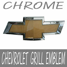 Front Grill CHEVROLET Chrome Border Bowtie Emblem For 11 12 Chevy Aveo 4d