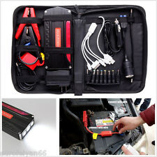 Heavy Duty 68800mAh 4-USB Car Jump Starter Power Bank Battery Emergency Charger