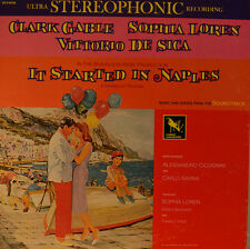 "OST - SOUNDTRACK - IT STARTED IN NAPLES - ALESSANDRO CICOGNINI  12"" LP (L864)"