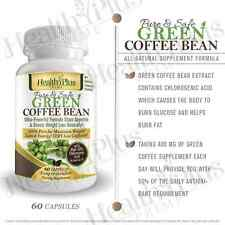 Health Plus Prime Green Coffee Bean Extract 100% Pure & Natural 800mg Serving