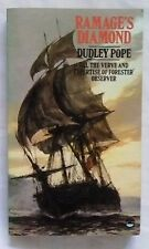 RAMAGE DIMOMND by Dudley Pope (Fontana Paperback 1977) 1st