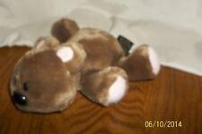 "Garfield Paws Jim Davis 6"" Bean Bag Pooky Plush Fine Toy Co. 1978 Laying Down"