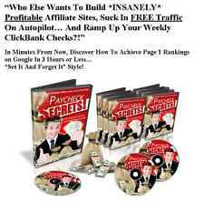Profitable Affiliate Marketing Using Clickbank Secrets Video Course..CD/DVD