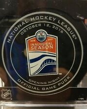 Edmonton Oilers NHL OFFICIAL Rogers Place Inaugural Game Puck 10.12.2016