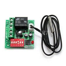 Digitale Temperatura Termostato Controllo Interruttore Termometro 20℃-90℃ Sensor