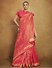 Tussar silk sarees with blouse Indian designer bollywood new saree fabric sari