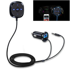 Car Receiver Wifi Bluetooth 3.5mm AUX Audio Stereo Music Home USB Adapter Charge