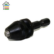 "1/4"" Inch MINI Snap Hex Shank Keyless Electric Drill Chucks Screwdriver Driver"