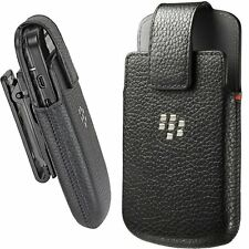 Genuine BlackBerry Premium Koskin Leather Swivel Holster with Belt Clip BB Q10