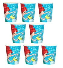 NEW Disney Little Mermaid Ariel 8-ct Paper Cups Birthday Party Favors Supplies~
