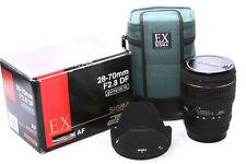 Sigma EX DF 28-70mm f/2.8 Lens Canon **4694**