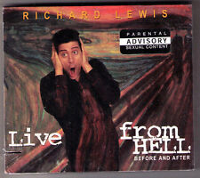 Live From Hell [PA] Richard Lewis comedy new sealed 2X CD HBO live + interview