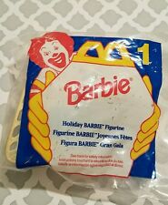 1995 Barbie McDonalds Holiday Barbie Figurine