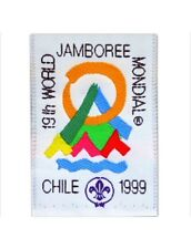 1999 World Jamboree OFFICIAL PARTICIPANT POCKET Patch - Scout Jambo, New Mint!