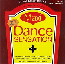 MAXI DANCE SENSATION 17 - DIVERSE INTERPRETEN / 2 CD-SET (BMG ARIOLA 1995)