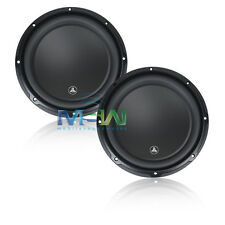 "(2) *NEW* JL AUDIO 10W3v3-4 10"" W3v3 SUBWOOFERS 4-OHM SVC CAR WOOFERS SUB *PAIR*"
