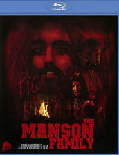 The Manson Family (Blu-ray/DVD, 2013, 2-Disc Set) RARE OOP HORROR GORE NUDITY