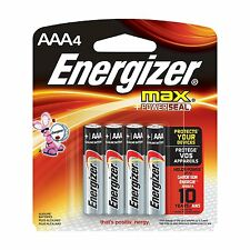 Energizer MAX AAA Batteries, Designed to Prevent Damaging Leaks 4 batteries