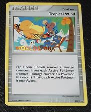 Tropical Wind DP25 DP Black Star Promo Pokemon Card PLAYED