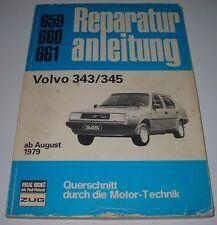 Reparaturanleitung Volvo 343 / 345 ab Baujahr August 1979 Bucheli!