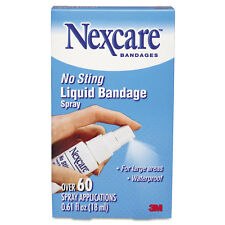 """3M Nexcare No-Sting Liquid Bandage Spray, .61oz"""
