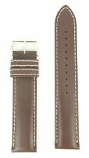 Seiko Solar Flightmaster SSC013P1 Watch Band L020 H 20 mm Brown V172 0AC0 Strap