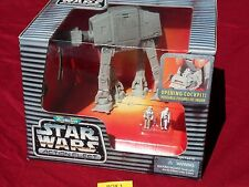 Star Wars Action Fleet IMPERIAL AT-AT WALKER Original Clean Galoob Silver 1995