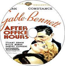 After Office Hours _ Clark Gable Constance Bennett Billie Burke v rare 1935