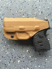 SPRINGFIELD ARMORY XDs 3.3 9/45 CUSTOM IWB KYDEX HOLSTER (COYOTE BROWN)