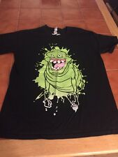 GHOSTBUSTERS - SLIMER - MEDIUM BLACK T-SHIRT