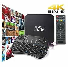 X96 S905X Smart TV BOX Android 6 PlayStore 4Core 2GB RAM 16GB ROM Keyboard 4K HD