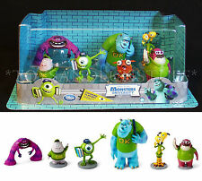 Disney MONSTERS UNIVERSITY Figurine Playset - 7 Figures CAKE TOPPERS