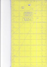 "12"" x 6.5"" ruler - for patchwork, crafting - use with rotary cutter"