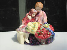 "ROYAL DOULTON -- ""THE FLOWER SELLER'S CHILDREN"" -- VINTAGE -- RETIRED -- # 1342"