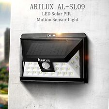 ARILUX Solar Power 24 LED Waterproof PIR Motion Sensor Wall Light Outdoor Garden