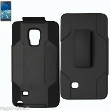 Samsung Galaxy Note Edge Heavy Duty Drop Proof Holster Combo Case with Belt Clip