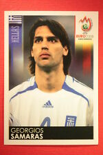 Panini EURO 2008 N. 380 SAMARAS HELLAS NEW With BLACK BACK TOPMINT !!