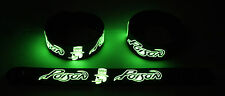 POISON NEW! Glow in the Dark Rubber Bracelet Wristband  GG360