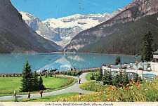 Postcard  Canada Lake Louise  Banff National Park  Alberta posted