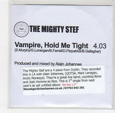 (FE292) The Mighty Stef, Vampire, Hold Me Tight - DJ CD