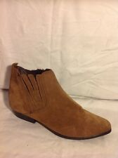 Gringos Brown Ankle Suede Boots Size 39